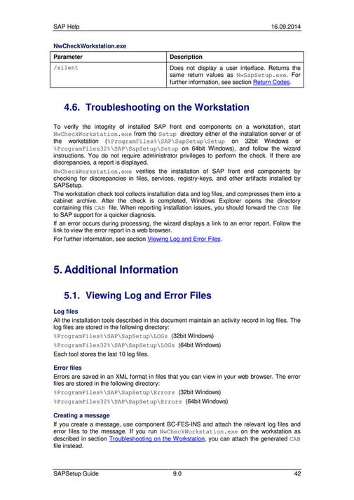 ecs - SAP Setup Guide - Page 44-45 - Created with Publitas com