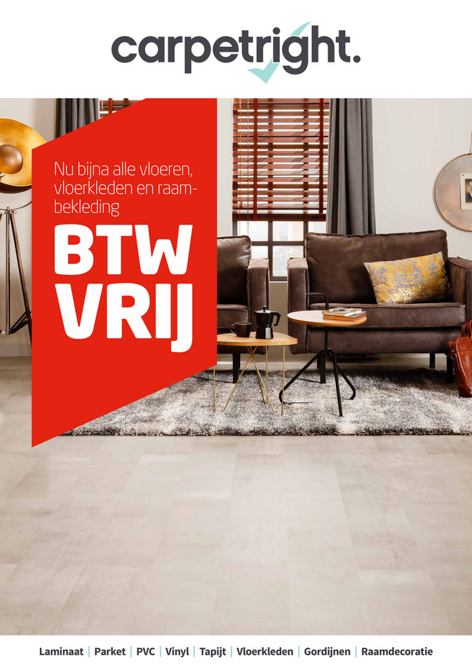 Carpetright  folder van 07/05/2018 tot 19/05/2018 - btw-vrij-wk19-2018-be-online-folder.pdf