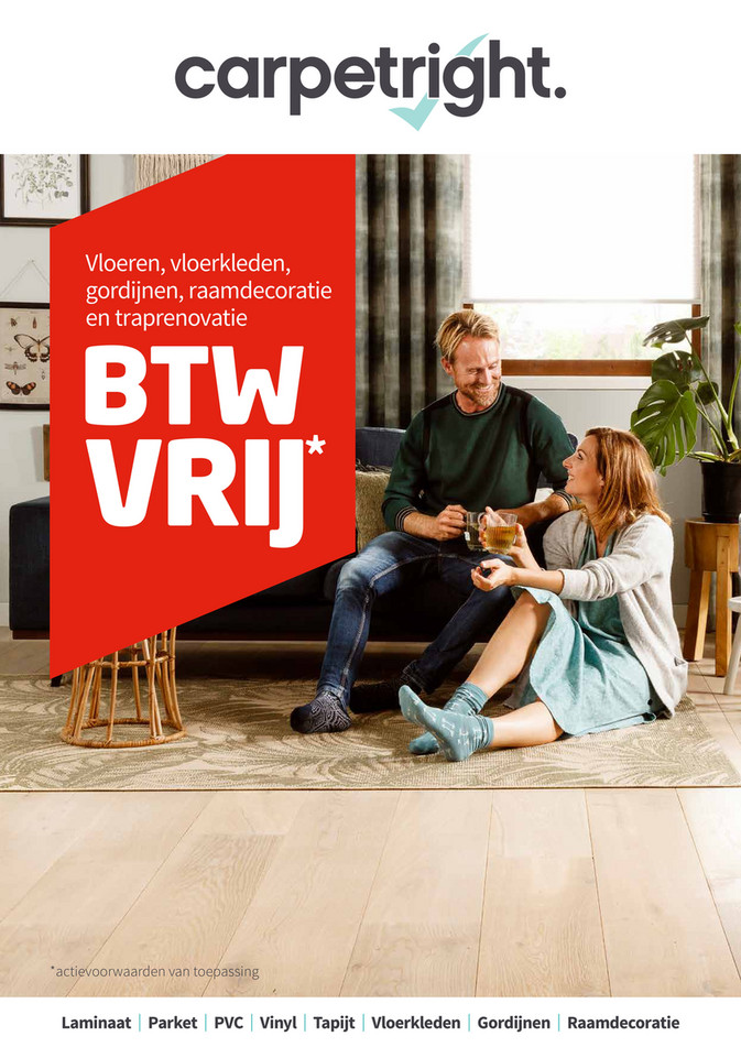 Carpetright  folder van 08/04/2019 tot 22/04/2019 - Weekpromoties 15
