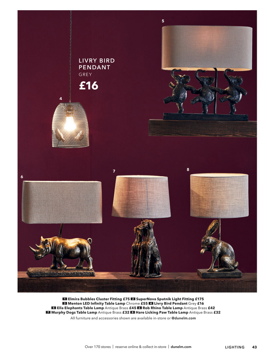 Picture of: Dunelm Autumn Winter 2018 Page 42 43