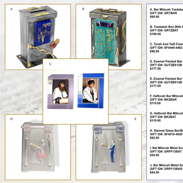 Traditions Jewish Gifts - Mitzvah Gift Guide - Page 1 - Created with Publitas.com