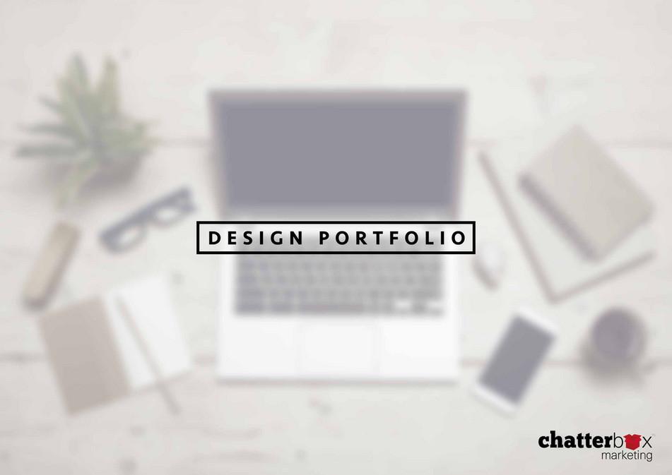 Chatterbox Marketing - Design Portfolio - Page 1