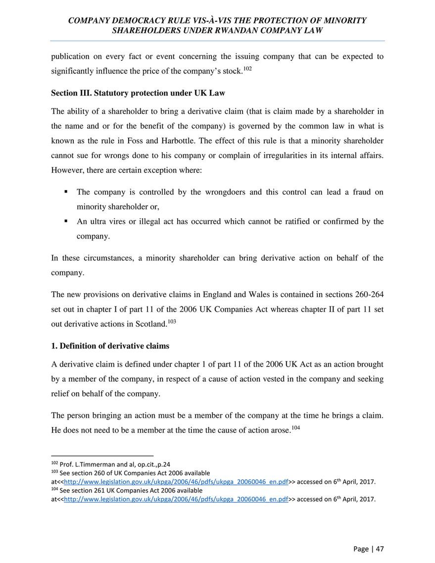 Company law uk pdf