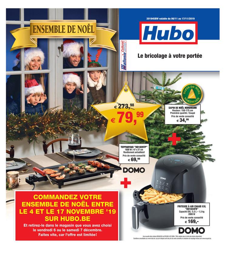 Folder Hubo du 06/11/2019 au 17/11/2019 - Promotions de la semaine 45