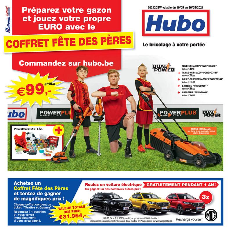 Folder Hubo du 19/05/2021 au 30/05/2021 - Promotions de la semaine 20