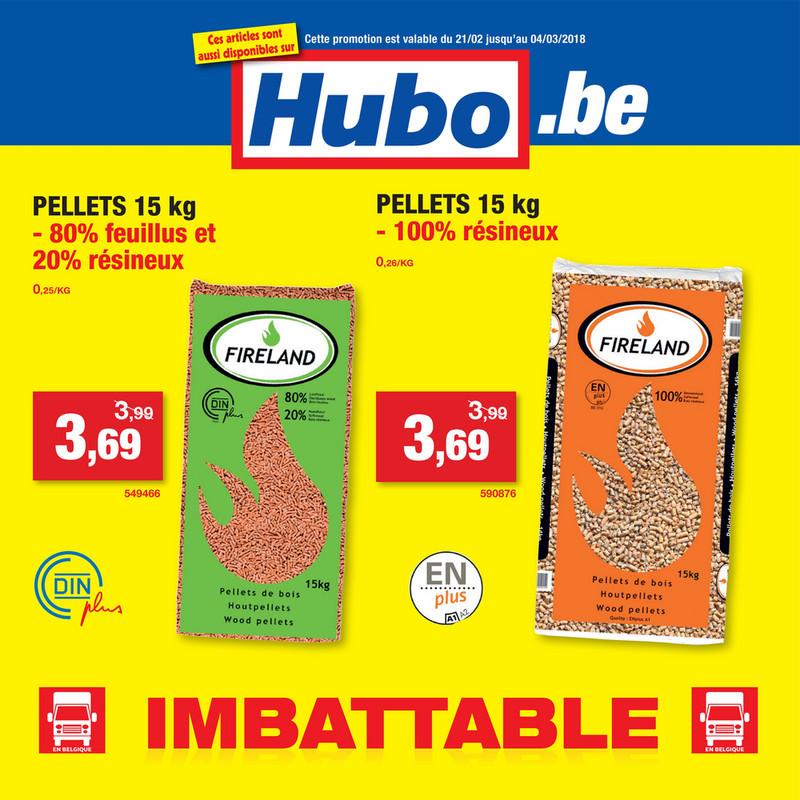 Folder Hubo du 23/02/2018 au 04/03/2018 - Promos semaine 9