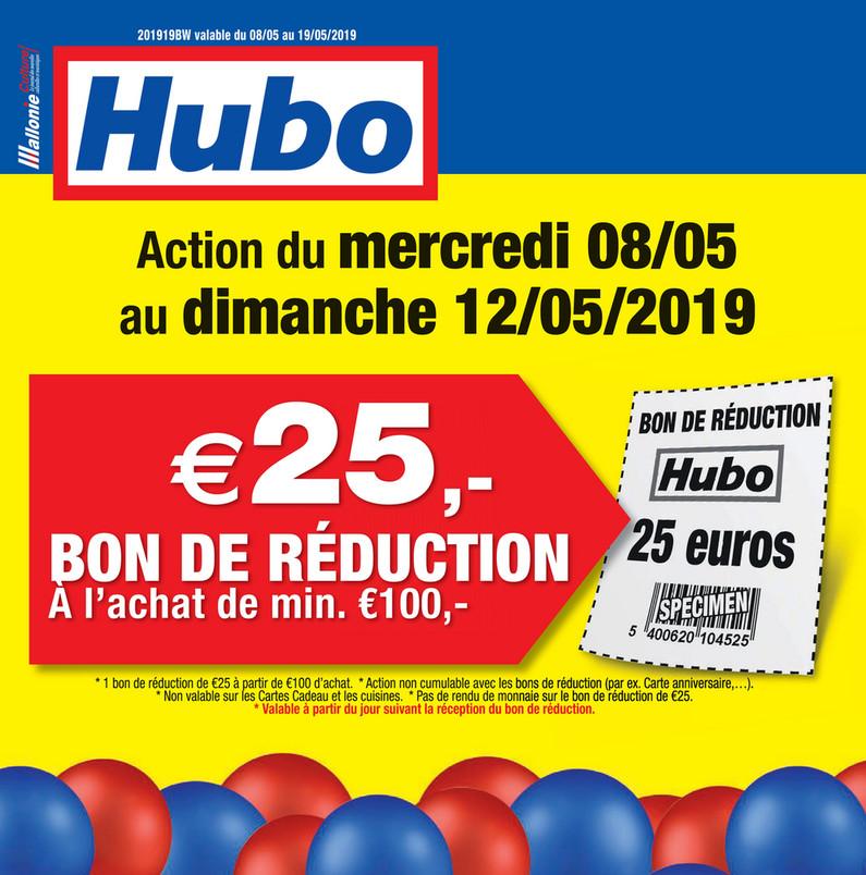 Folder Hubo du 08/05/2019 au 19/05/2019 - promotions de la semaine 19