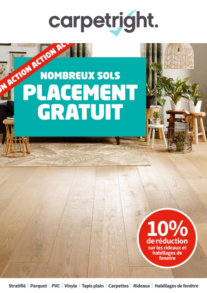 Folder Carpetright  du 06/08/2018 au 25/08/2018 - Carpetright W31 FR.pdf