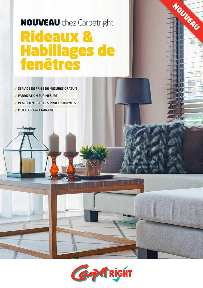 Folder Carpetright  du 01/08/2018 au 31/12/2019 - Gordijnen-en-raamdecoratie