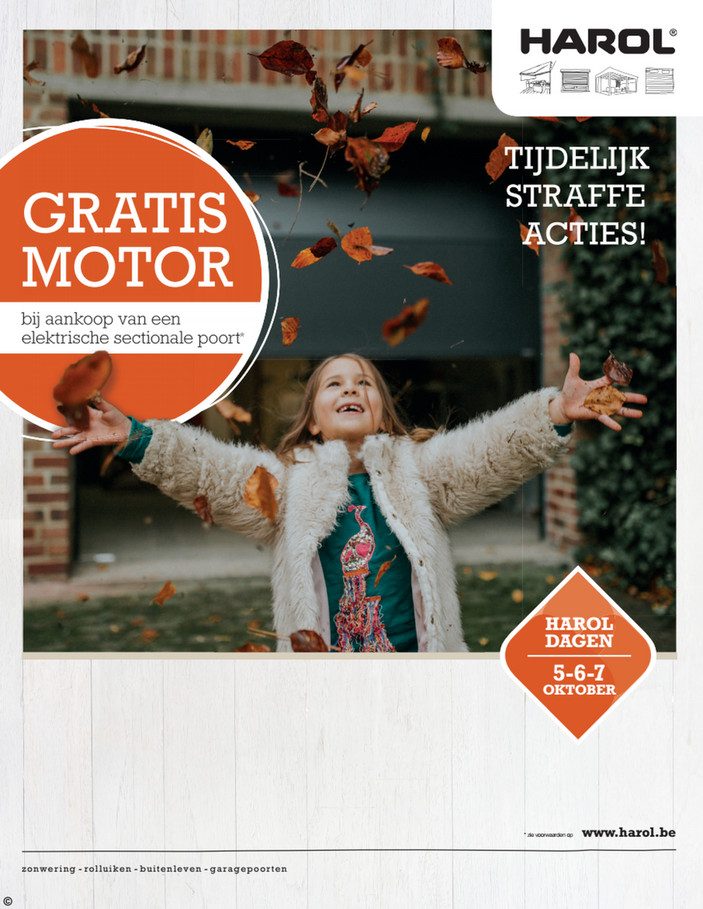 Harol folder van 01/10/2018 tot 31/10/2018 - Maandpromoties