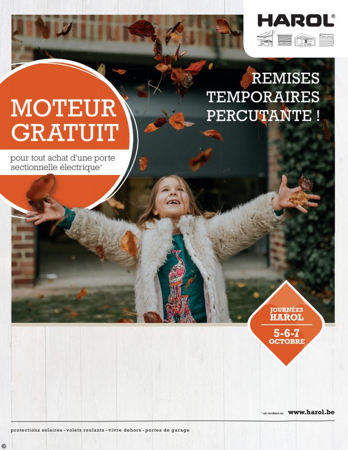 Folder Harol du 01/10/2018 au 31/10/2018 - Promotions du mois