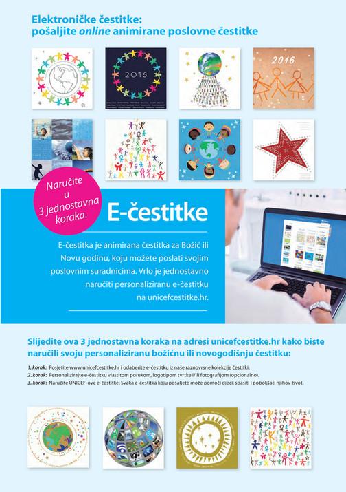 elektroničke čestitke My publications   Unicef Croatia   Božićna kolekcija 2015 2016  elektroničke čestitke