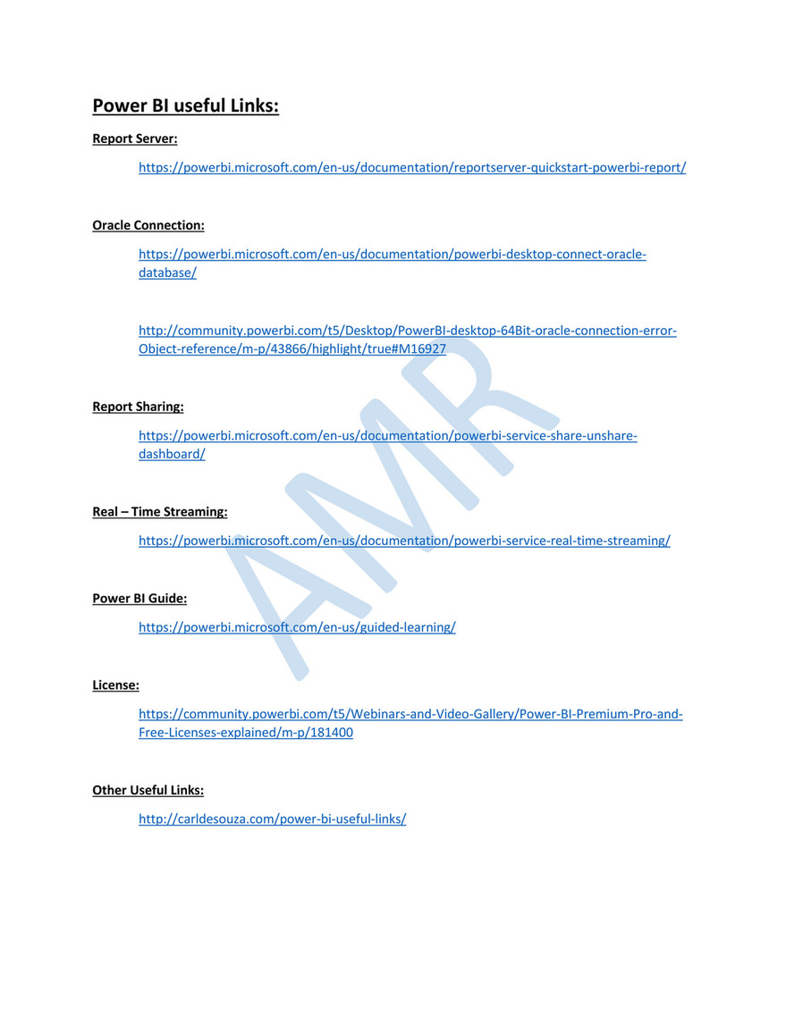 AMR's Blog - Useful Links - Page 1 - Created with Publitas com