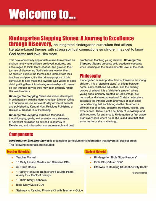 Kendall Hunt Publishing Company - Kindergarten Stepping