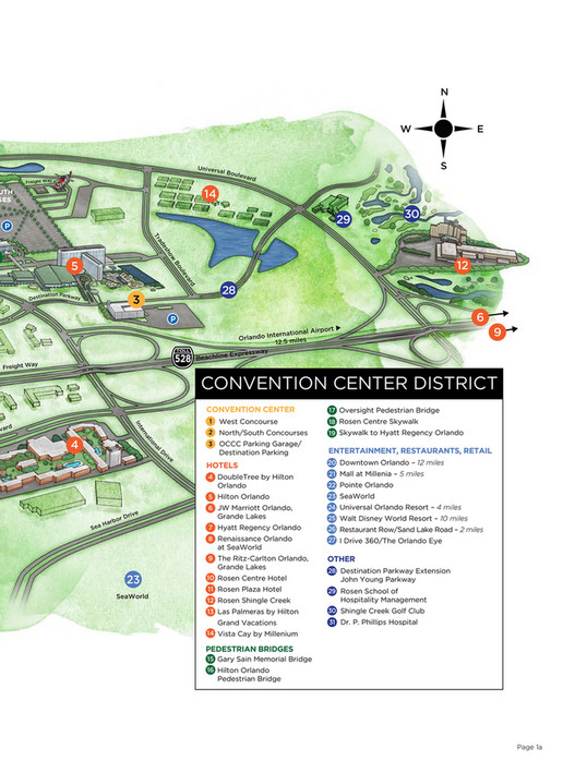 Orange County Convention Center - Facility Floor Plans - Page 4-5 ...