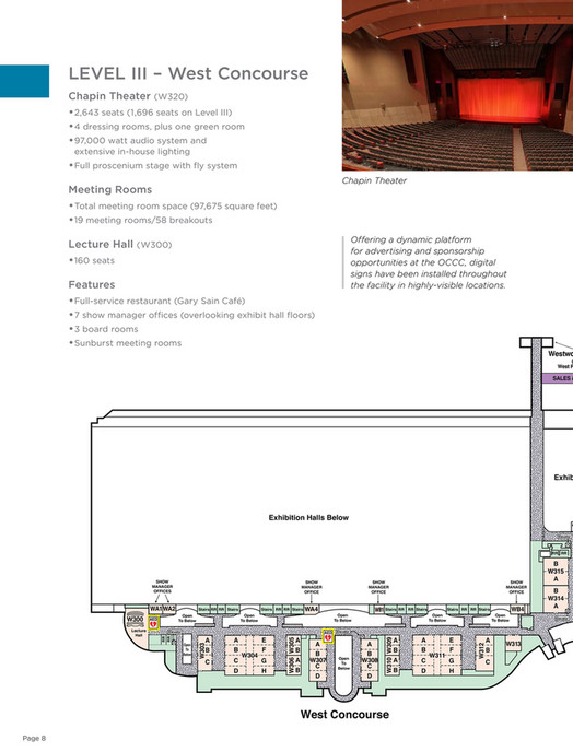 Orange County Convention Center - Facility Floor Plans - Page 14-15