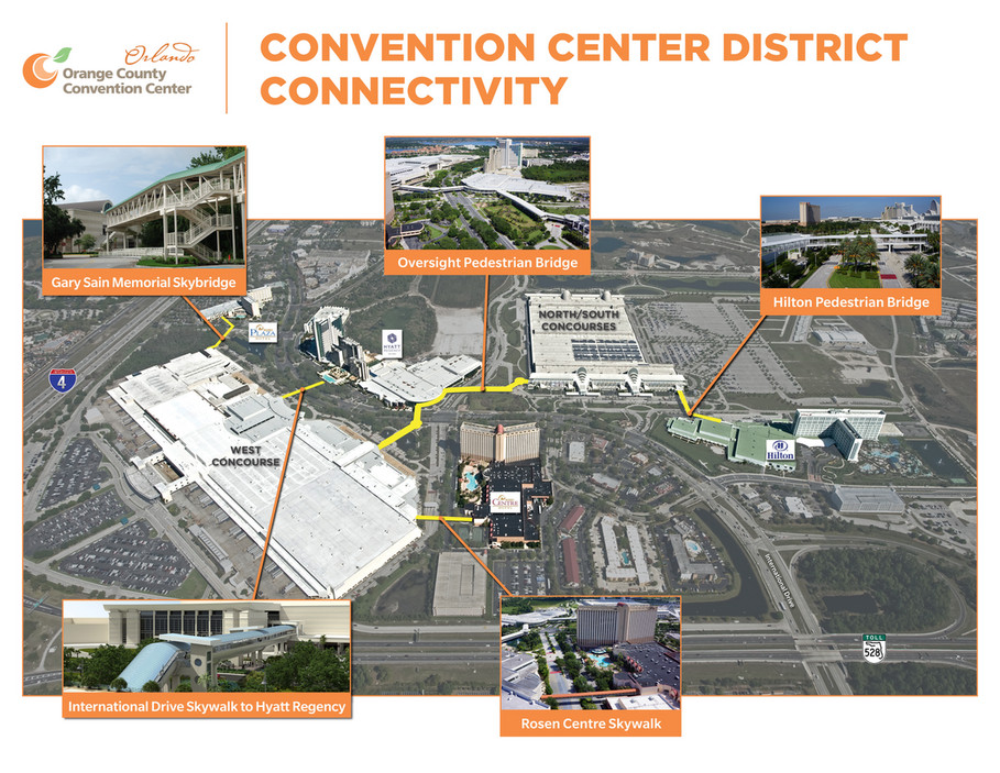 Orange County Convention Center - Connectivity Map - Page 1 ...