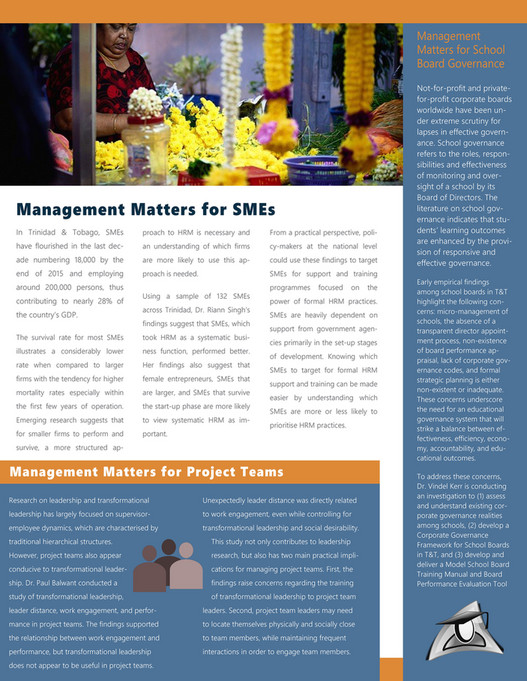 The University of the West Indies - DMS Newsletter Issue 1 - Page 1