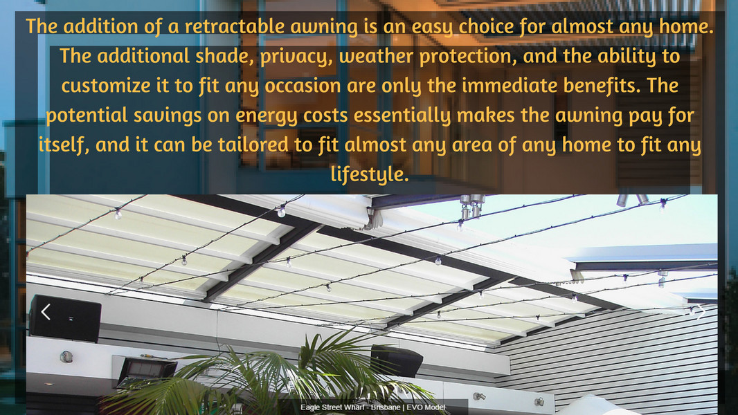 Tecnic Product Reduce Heat And Sun Damage Using Retractable
