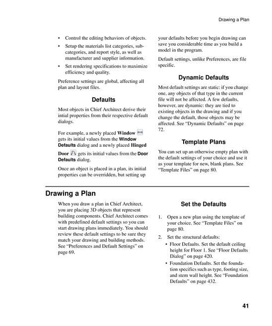 my publications chief architect manual page 40 41 created with