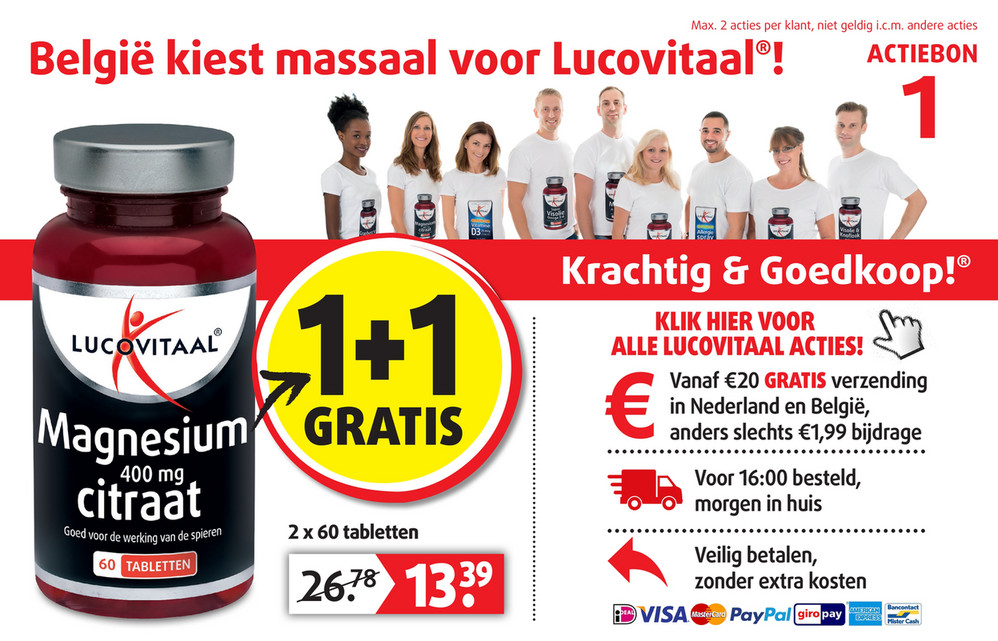 Lucovitaal folder van 18/11/2019 tot 08/12/2019 - Weekpromoties 47