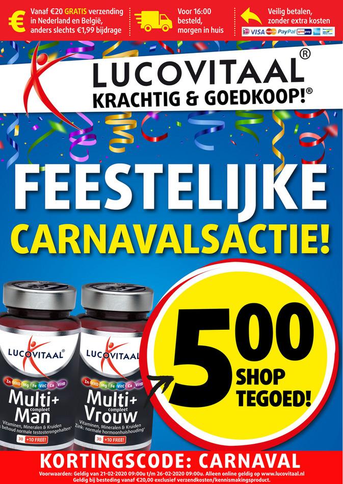 Lucovitaal folder van 21/02/2020 tot 25/02/2020 - Carnaval week 08