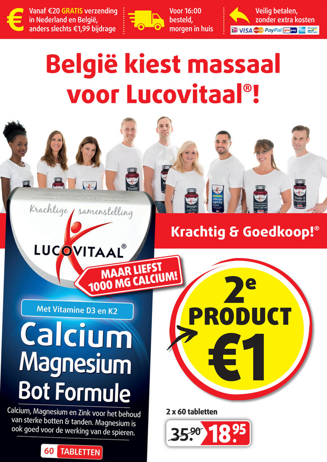 Lucovitaal folder van 24/09/2018 tot 21/10/2018 - Weekpromoties 39