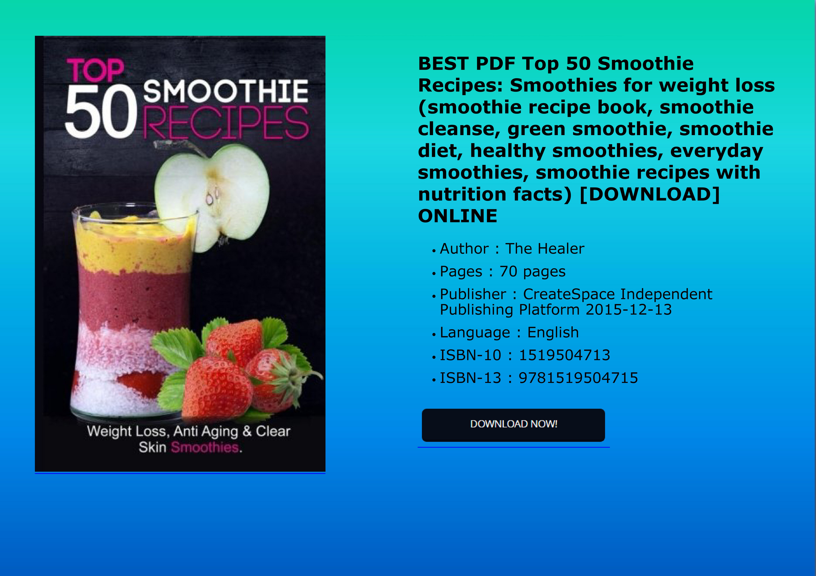 Mumun Busines Best Pdf Top 50 Smoothie Recipes Smoothies For Weight Loss Smoothie Recipe Book Smoothie Cleanse Page 1 Created With Publitas Com