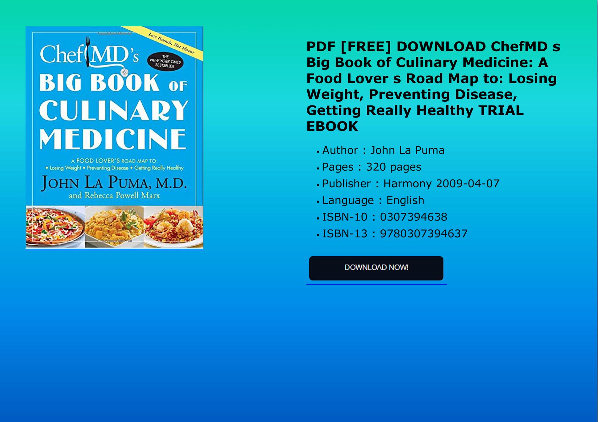 Pdf book medicine blue