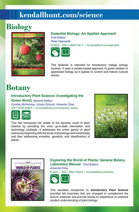 Kendall Hunt Publishing Kendallhunt Science Page 2 3 Created
