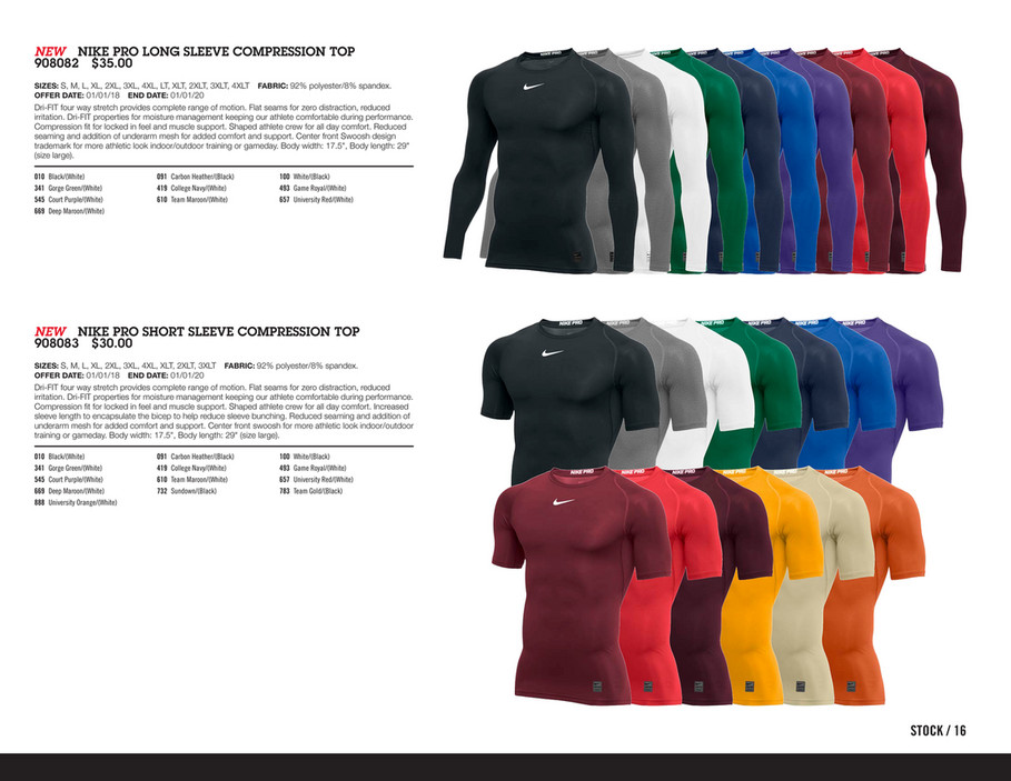 $35 Nike Core Compression Top 2XL