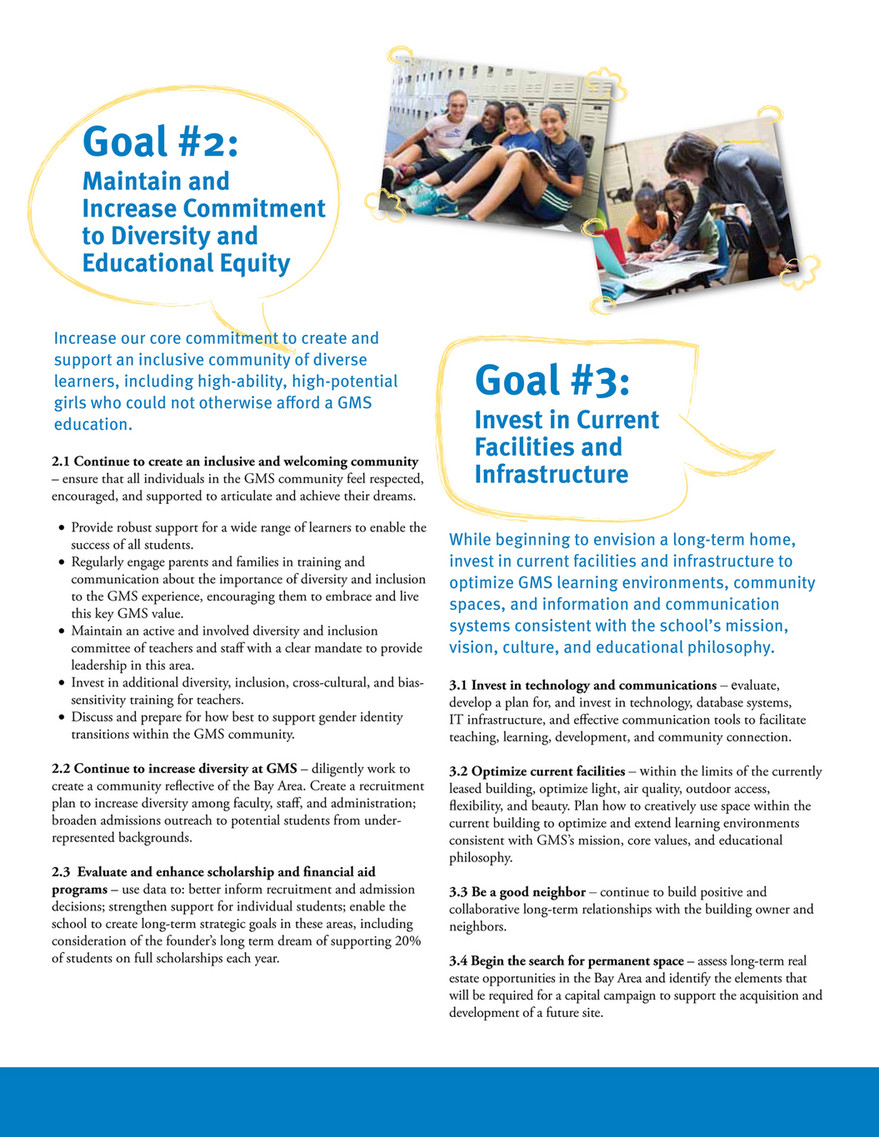 The Girls' Middle School - Single - 2015 Strategic Plan - Page 2