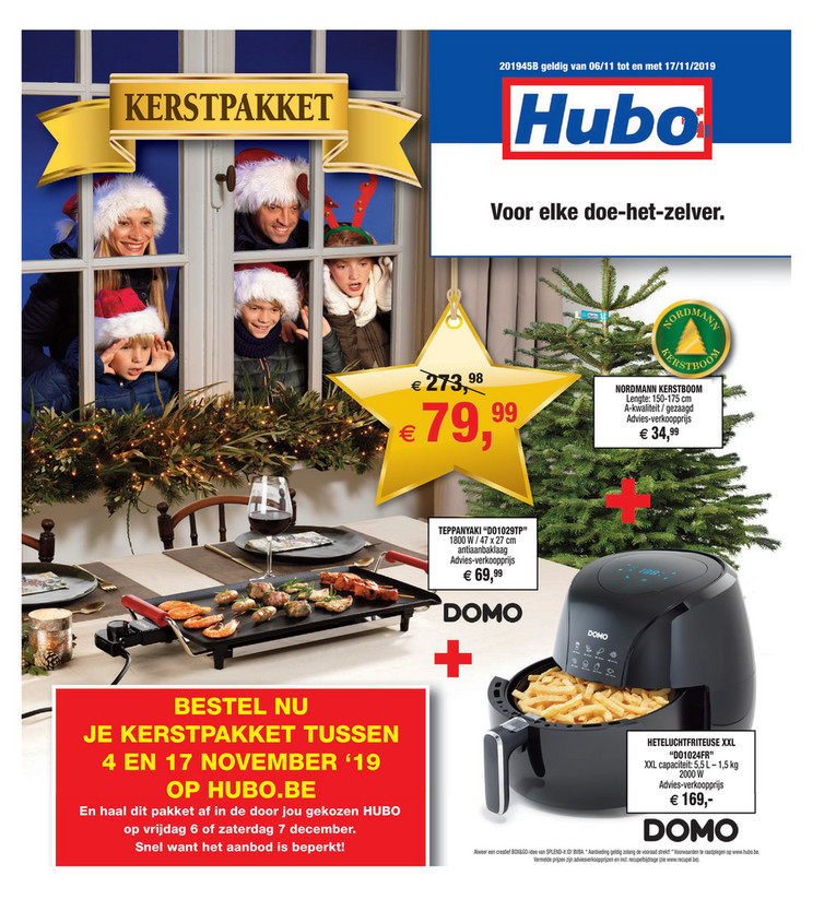 Hubo folder van 06/11/2019 tot 17/11/2019 - Weekpromoties 45