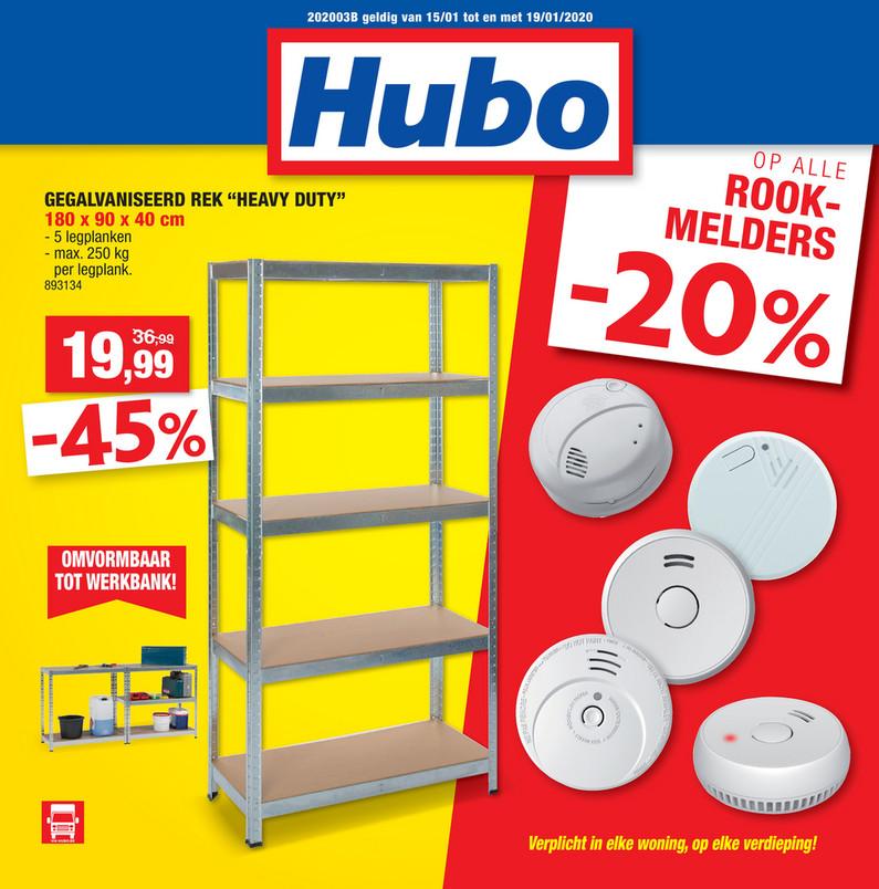 Hubo folder van 15/01/2020 tot 19/01/2020 - Weekpromoties 4