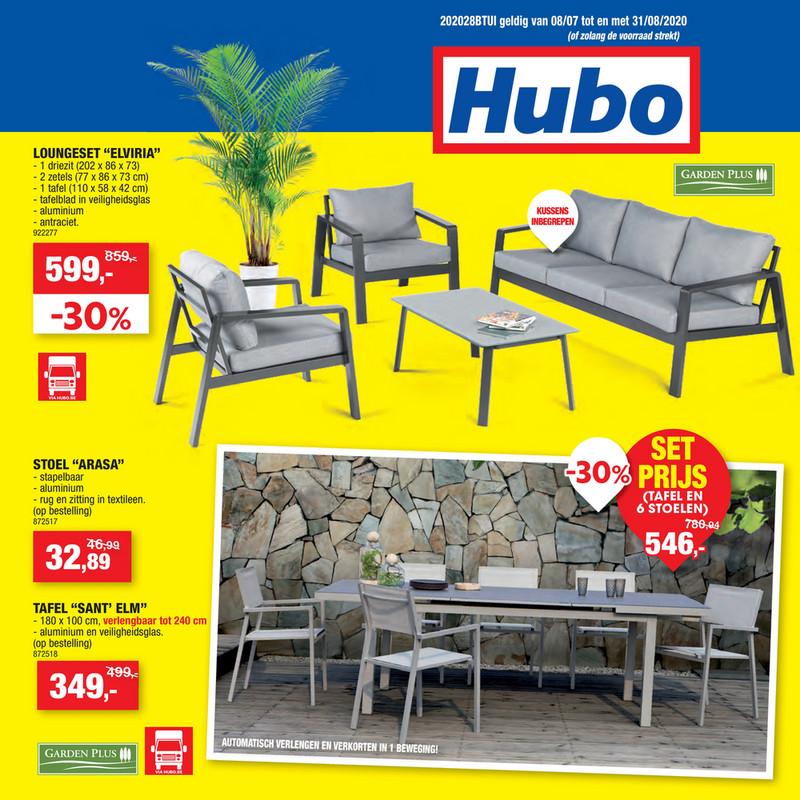 Hubo folder van 08/07/2020 tot 31/07/2020 - Weekpromoties 29