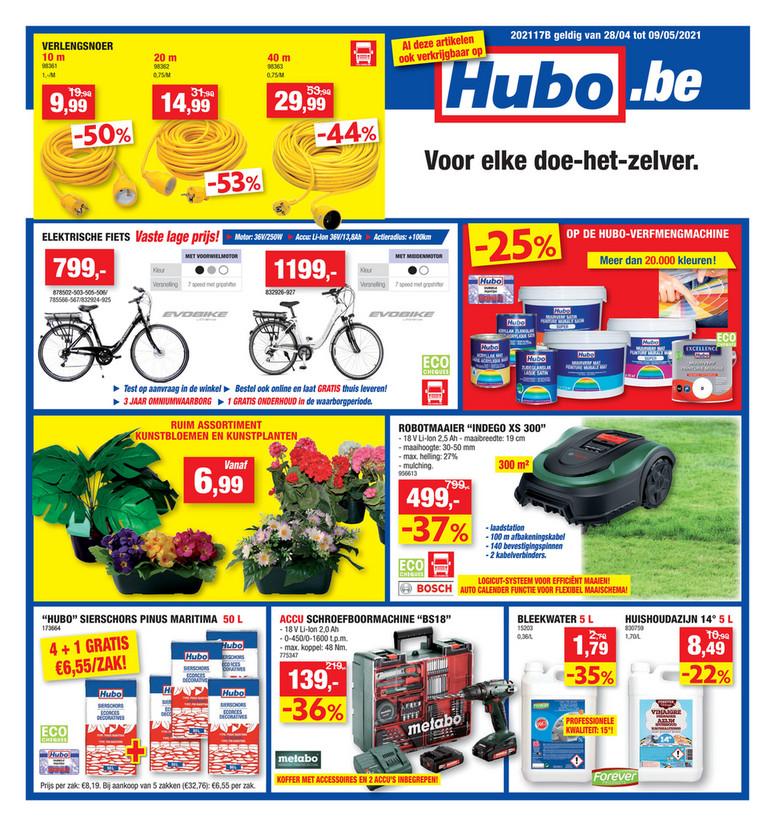 Hubo folder van 28/04/2021 tot 09/05/2021 - Weekpromoties 17