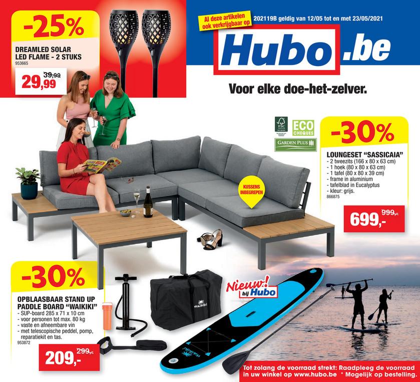 Hubo folder van 12/05/2021 tot 23/05/2021 - Weekpromoties 19