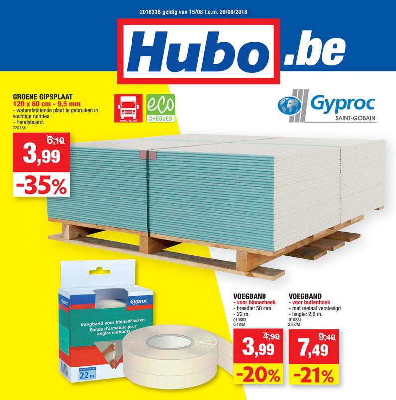 Hubo folder van 15/08/2018 tot 26/08/2018 - Hubo W33 NL.pdf