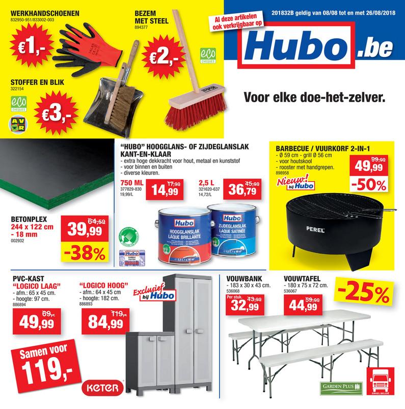 Hubo folder van 06/08/2018 tot 26/08/2018 - Hubo W32 NL.pdf