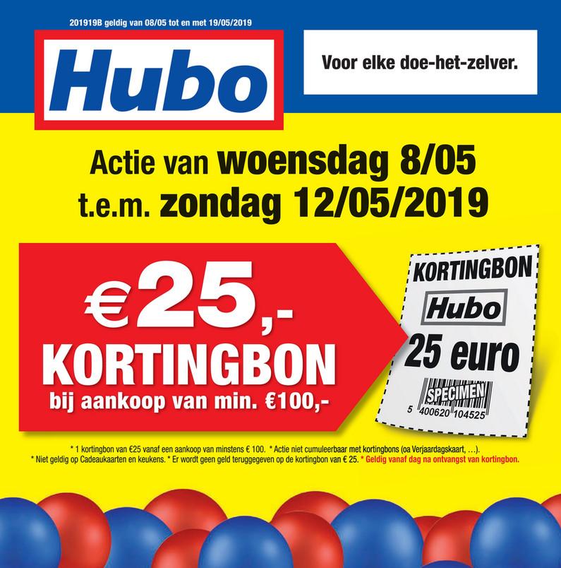 Hubo folder van 08/05/2019 tot 19/05/2019 - Weekpromoties 19