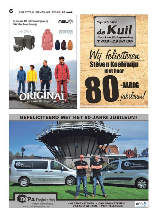 Bike Totaal Steven Koelewijn - Jubileum Magazine Steven