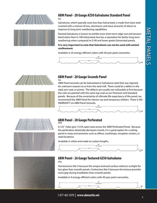 A B  Martin Roofing Supply - A B  Martin Wholesale Catalog - Page 1