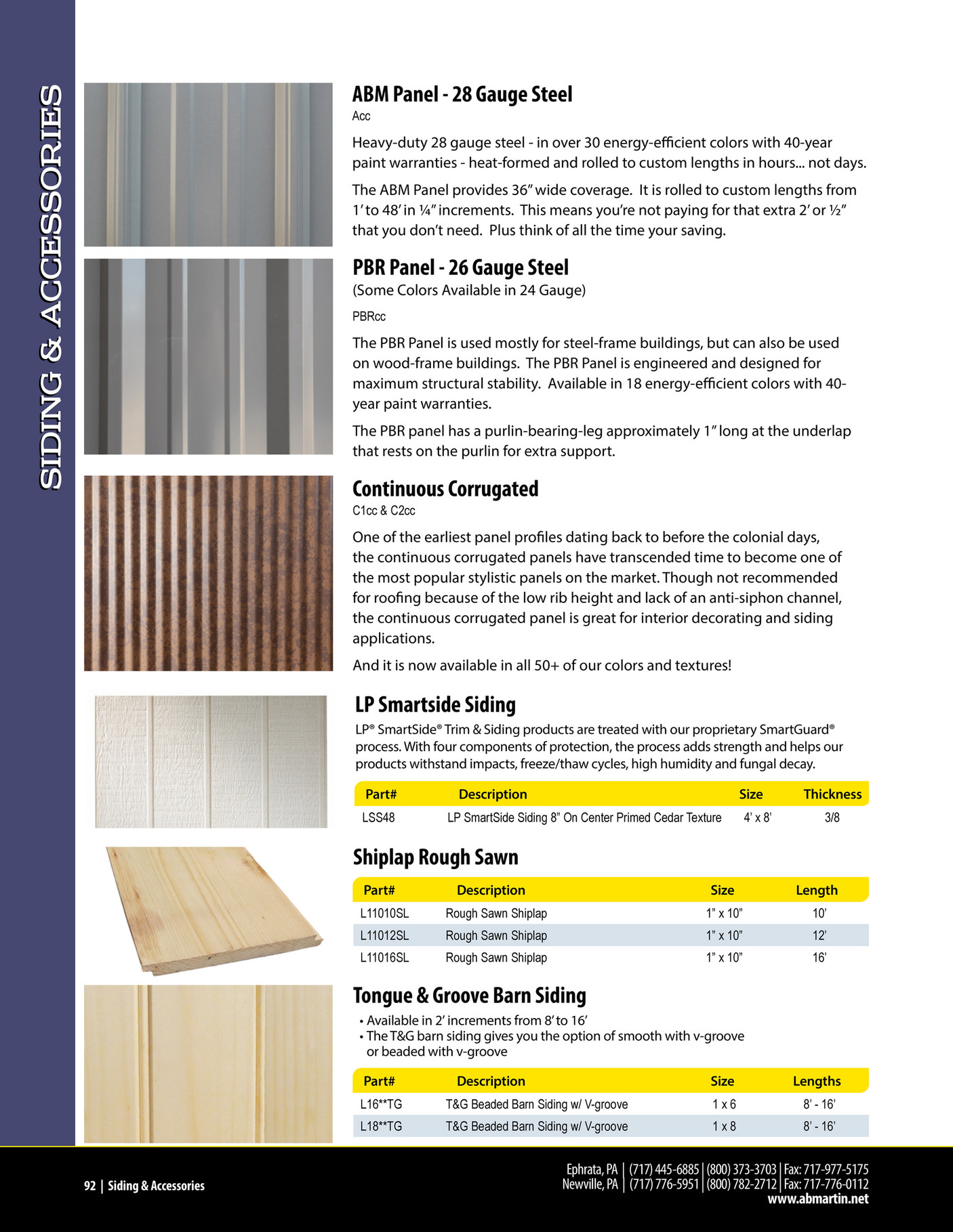 A B Martin Roofing Supply A B Martin Product Catalog 2020 Page 92 93 Created With Publitas Com