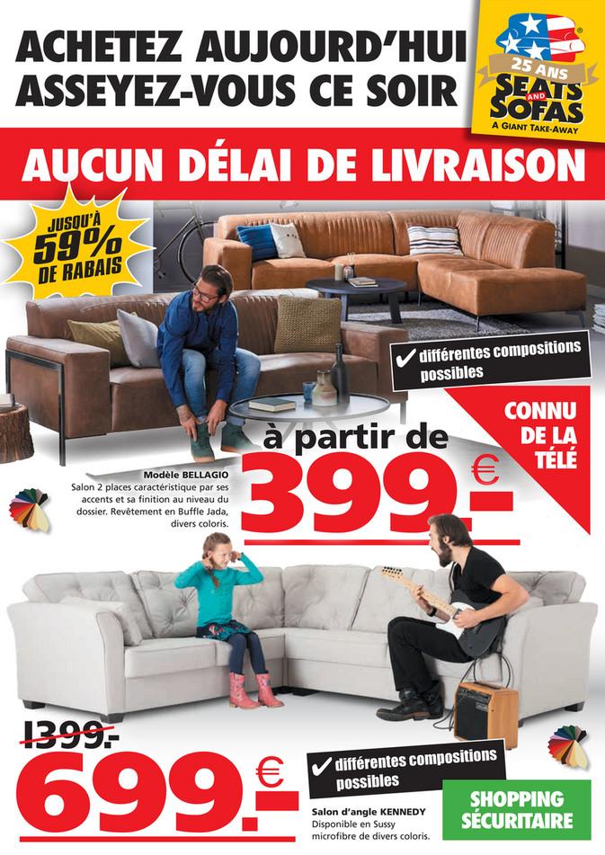 Folder Seats and Sofas du 14/09/2020 au 20/09/2020 - Promotions de la semaine 38