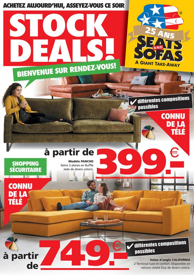 Folder Seats and Sofas du 06/04/2021 au 11/04/2021 - Promotions de la semaine 14