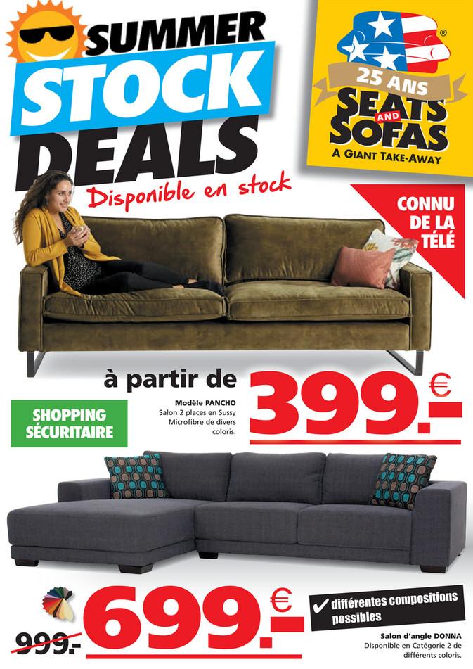 Folder Seats and Sofas du 02/08/2021 au 15/08/2021 - Promotions du mois aout