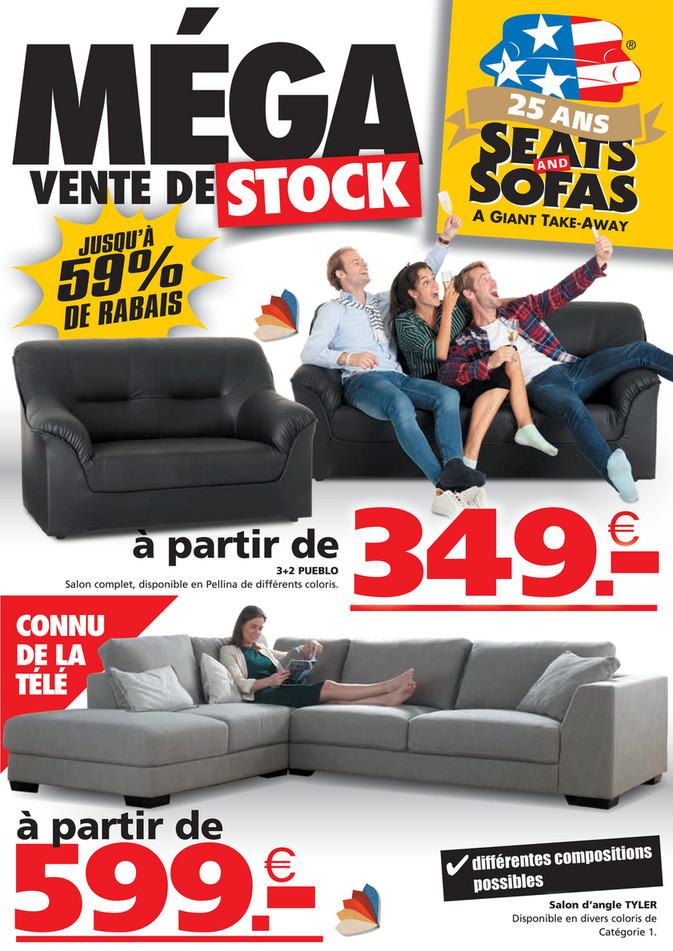 Folder Seats and Sofas du 03/10/2021 au 17/10/2021 - Promotions de la semaine 40-41