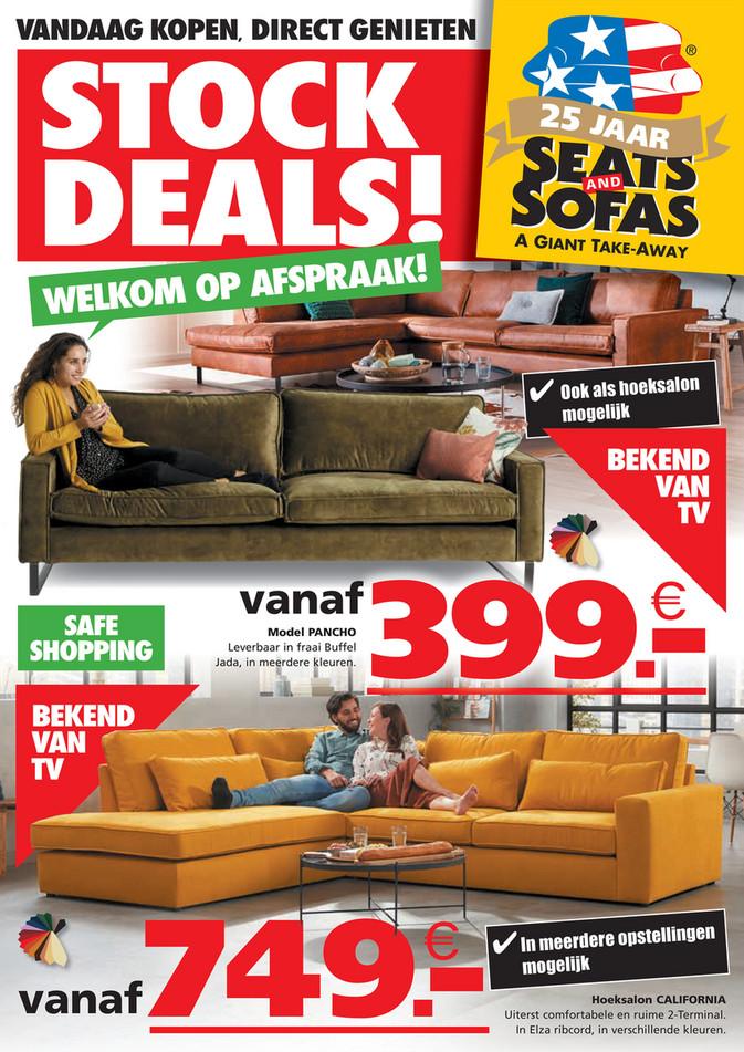 Seats and Sofas folder van 06/04/2021 tot 11/04/2021 - Weekpromoties 14