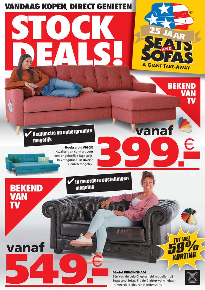 Seats and Sofas folder van 26/04/2021 tot 09/05/2021 - Weekpromoties 17-18