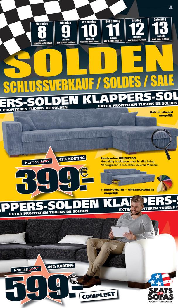 Seats and Sofas folder van 08/01/2018 tot 13/01/2018 - Solden week 2 2018